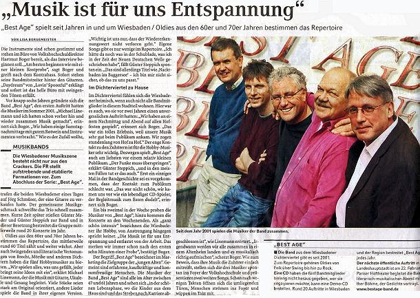 Frankfurter Rundschau vom 04.01.2007